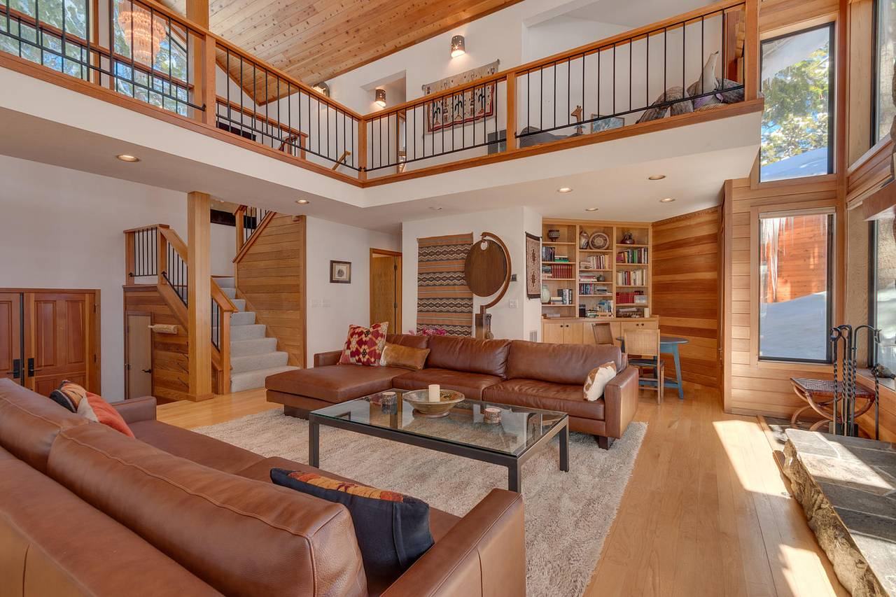 Ski Chalet Interior Design lake tahoe rental | conifer ski chalet at northstar