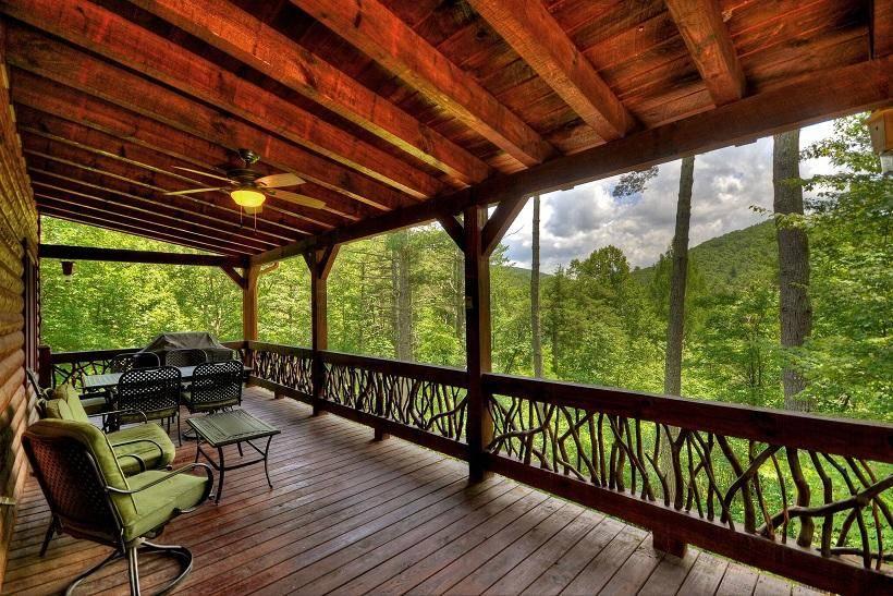 Georgia Cabins - Georgia Cabin Rental | Bearadise | Morning