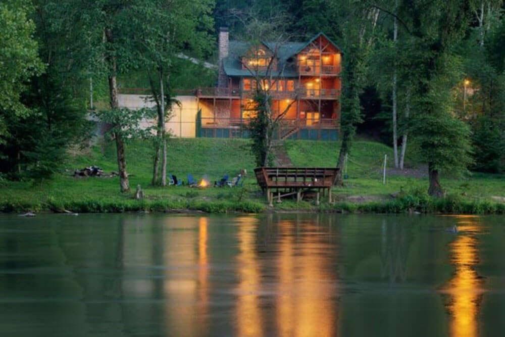 Georgia Cabins - Hunter's Lodge - North Georgia Cabin Rental