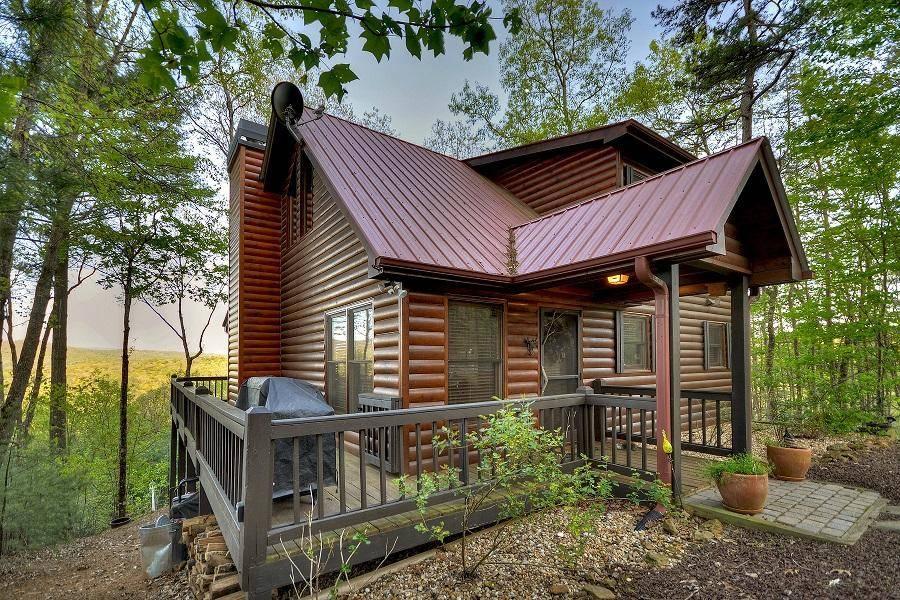 Georgia Cabins Tangled Up In Blue Ridge Morning Breeze