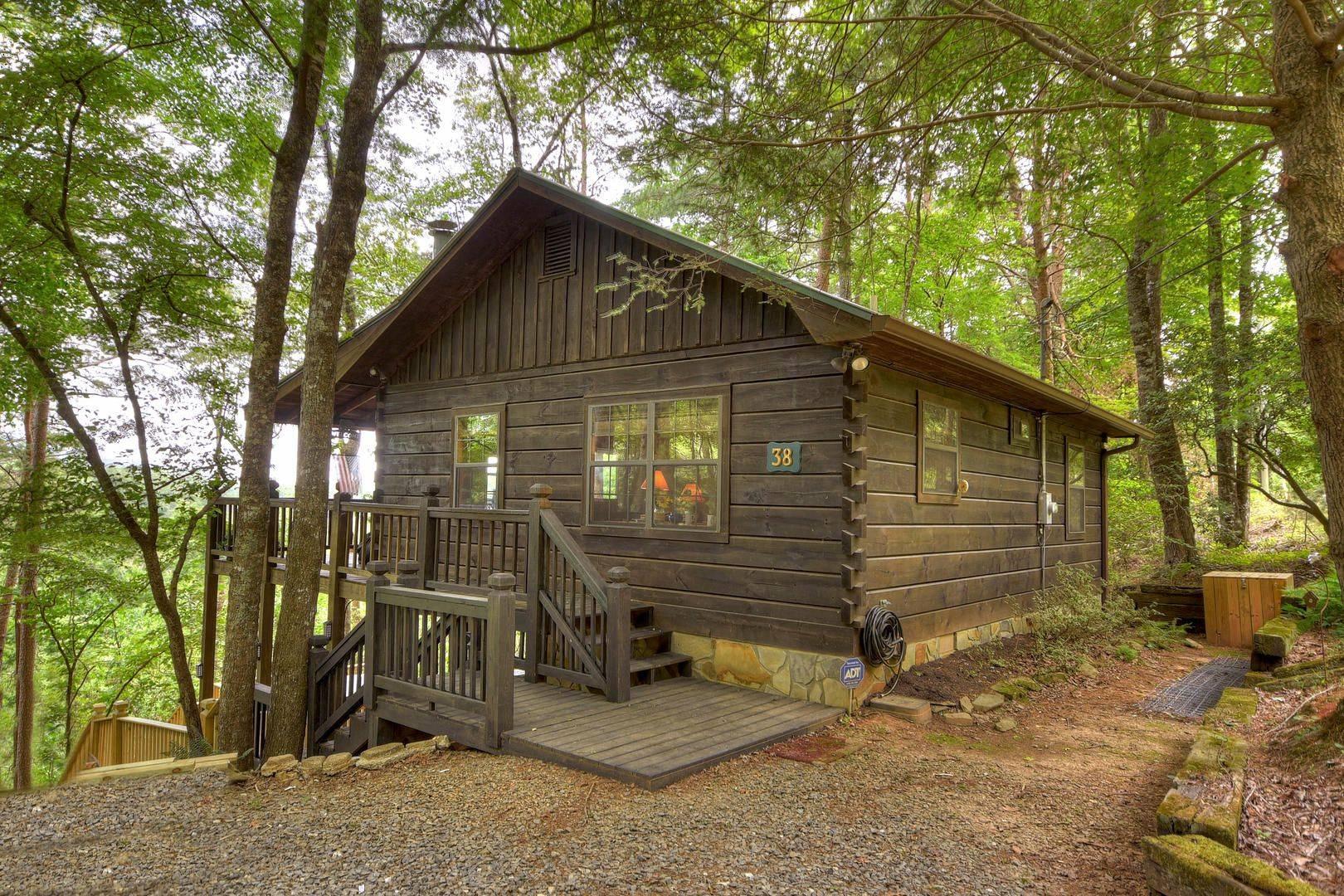 Georgia Cabins Cozy Mountain Cabin Morning Breeze Cabin Rentals