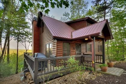 North Georgia Pet Friendly Cabin Rentals   Morning Breeze