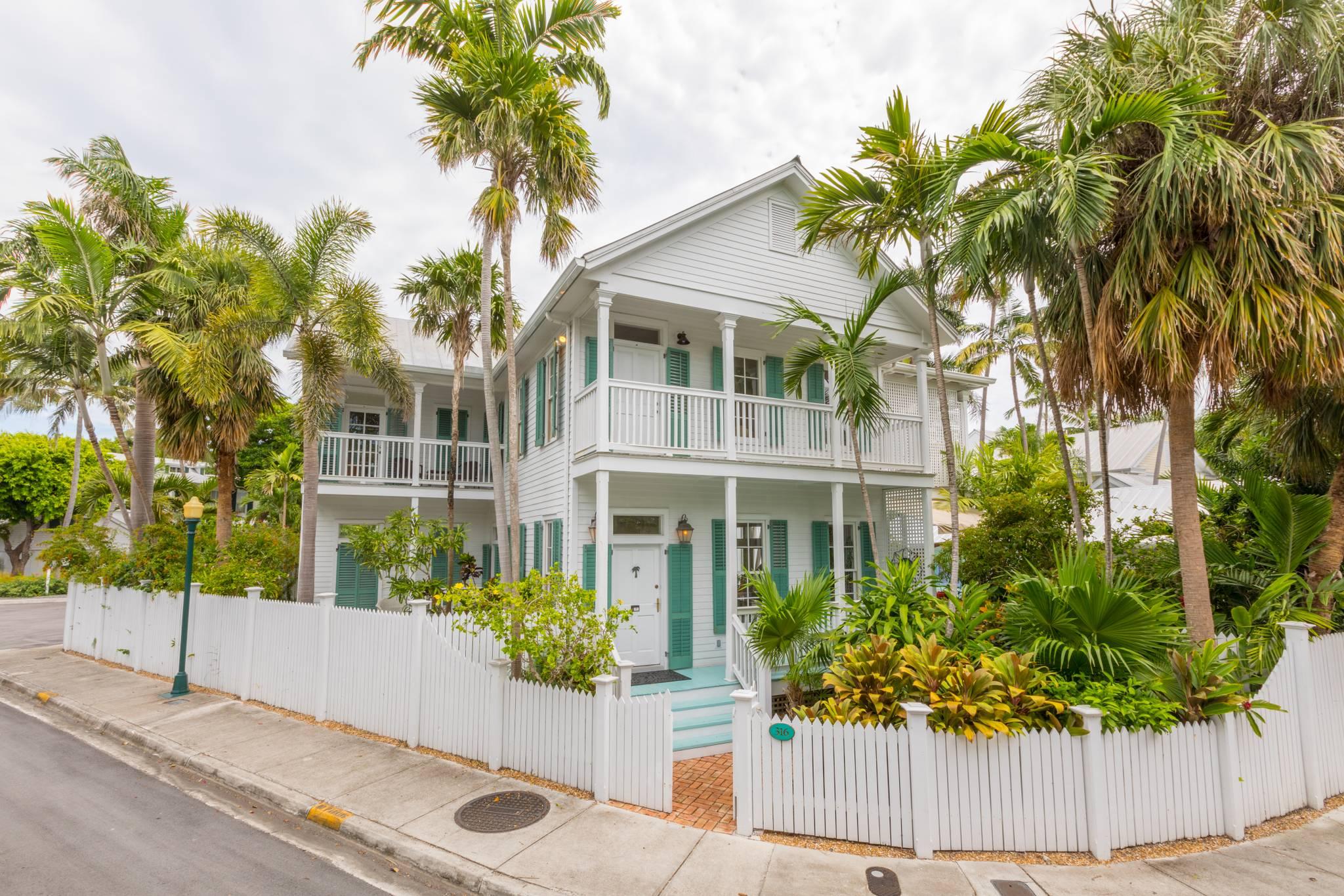 Incredible Beach House Prestigious Best Of Key West Rentals Interior Design Ideas Clesiryabchikinfo