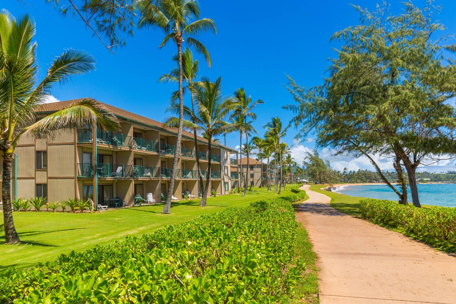Pono Kai Resort B 101 Oceanfront Ground Floor Garden Island