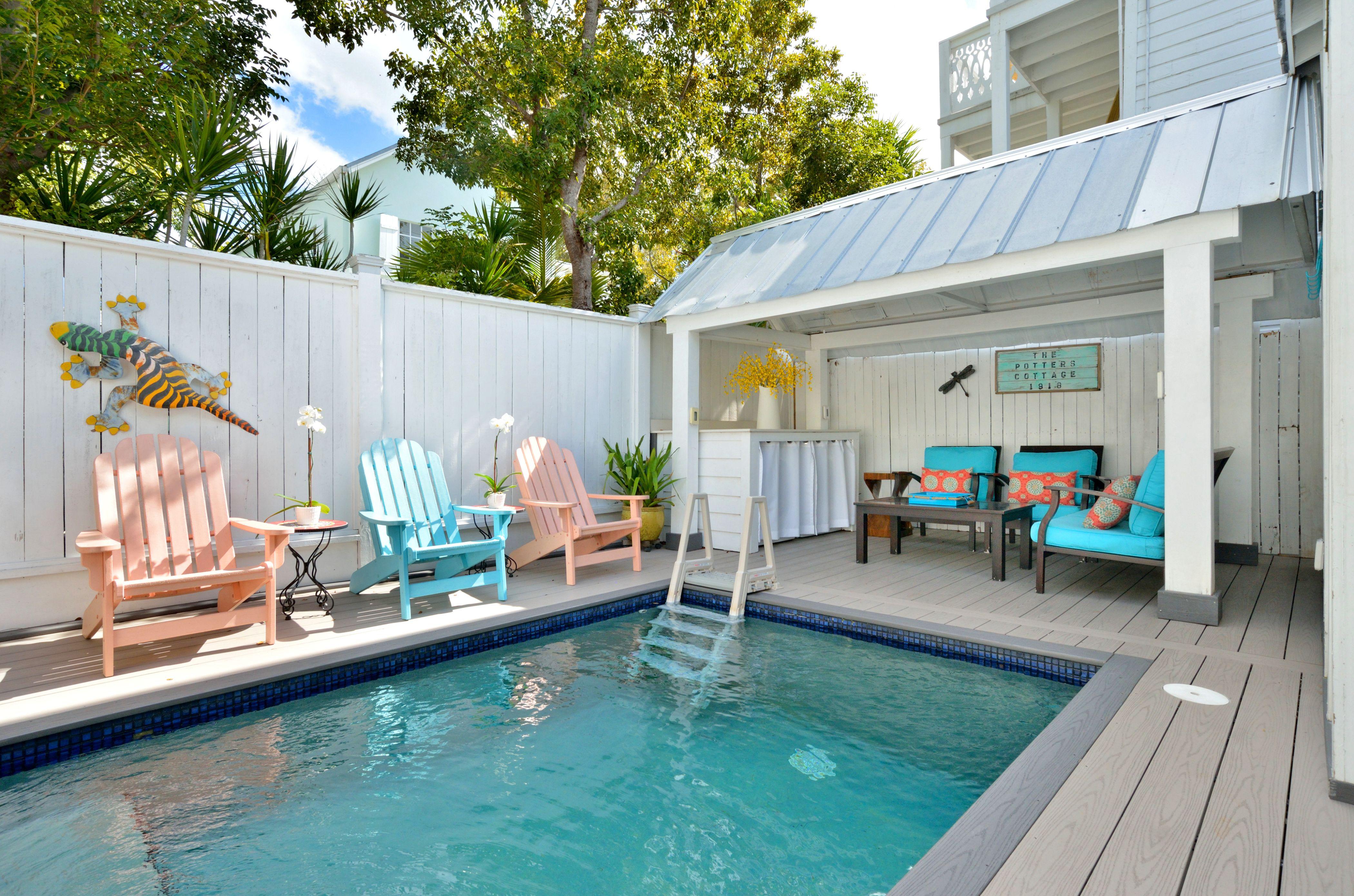 Awesome Potters Cottage Nightly Rental Historic Key West Interior Design Ideas Gentotryabchikinfo