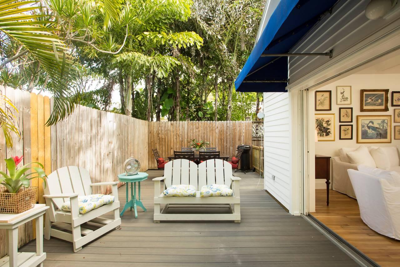 Lemonade Mermaid Monthly Rental Historic Key West