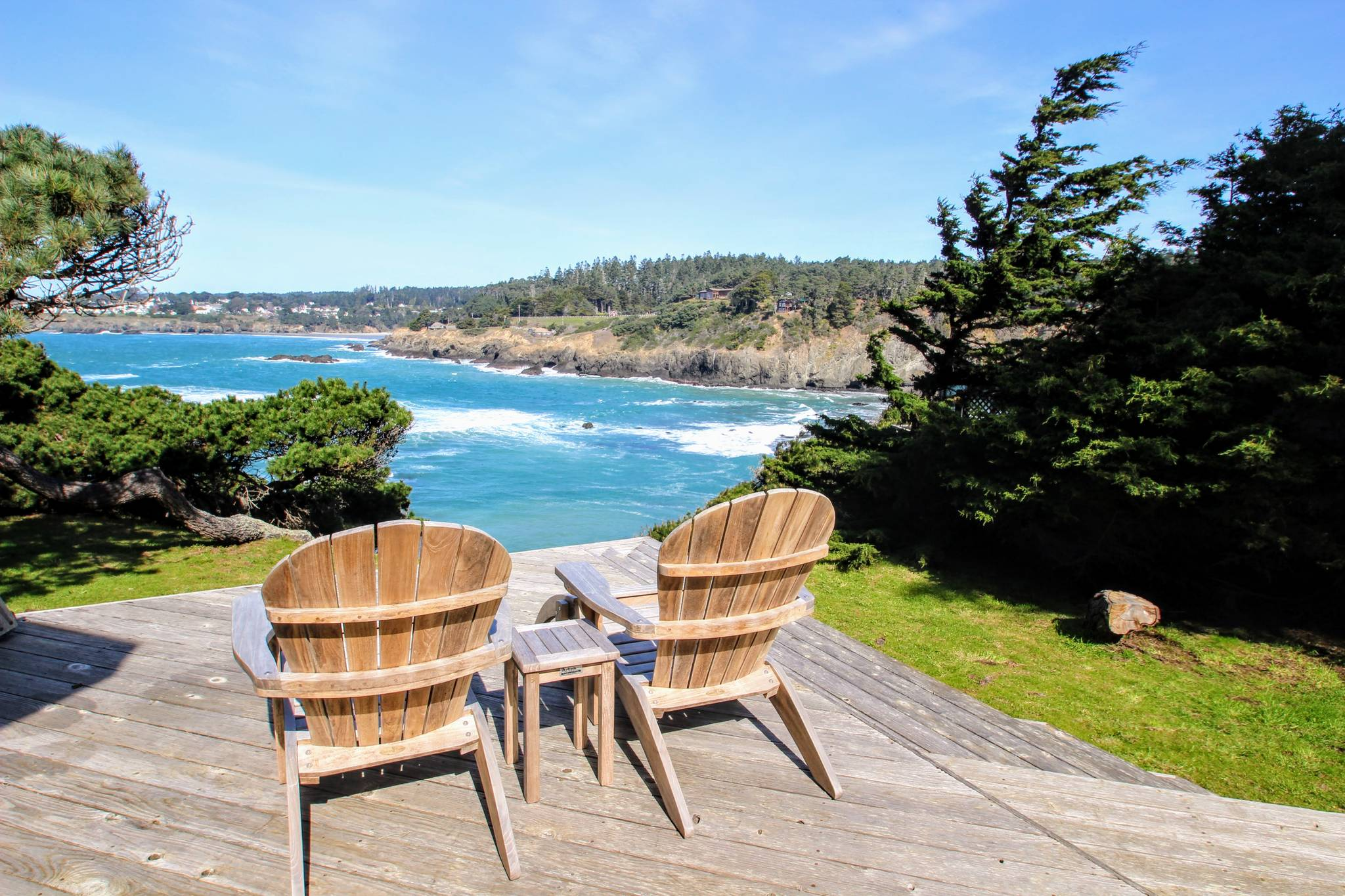 Chapman Point House Mendocino