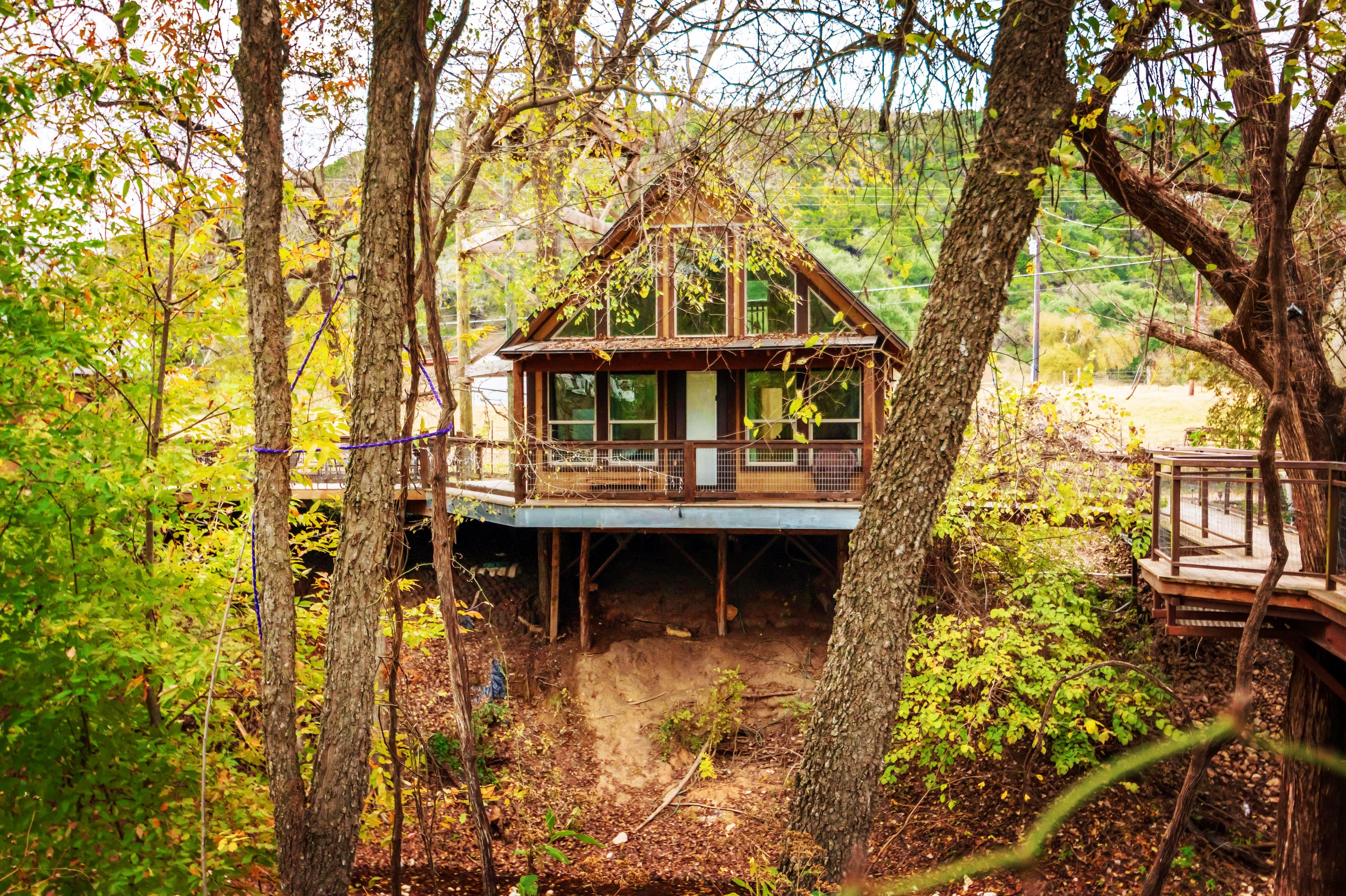 River Rd Treehouses Whippoorwill Haus Best Texas Travel